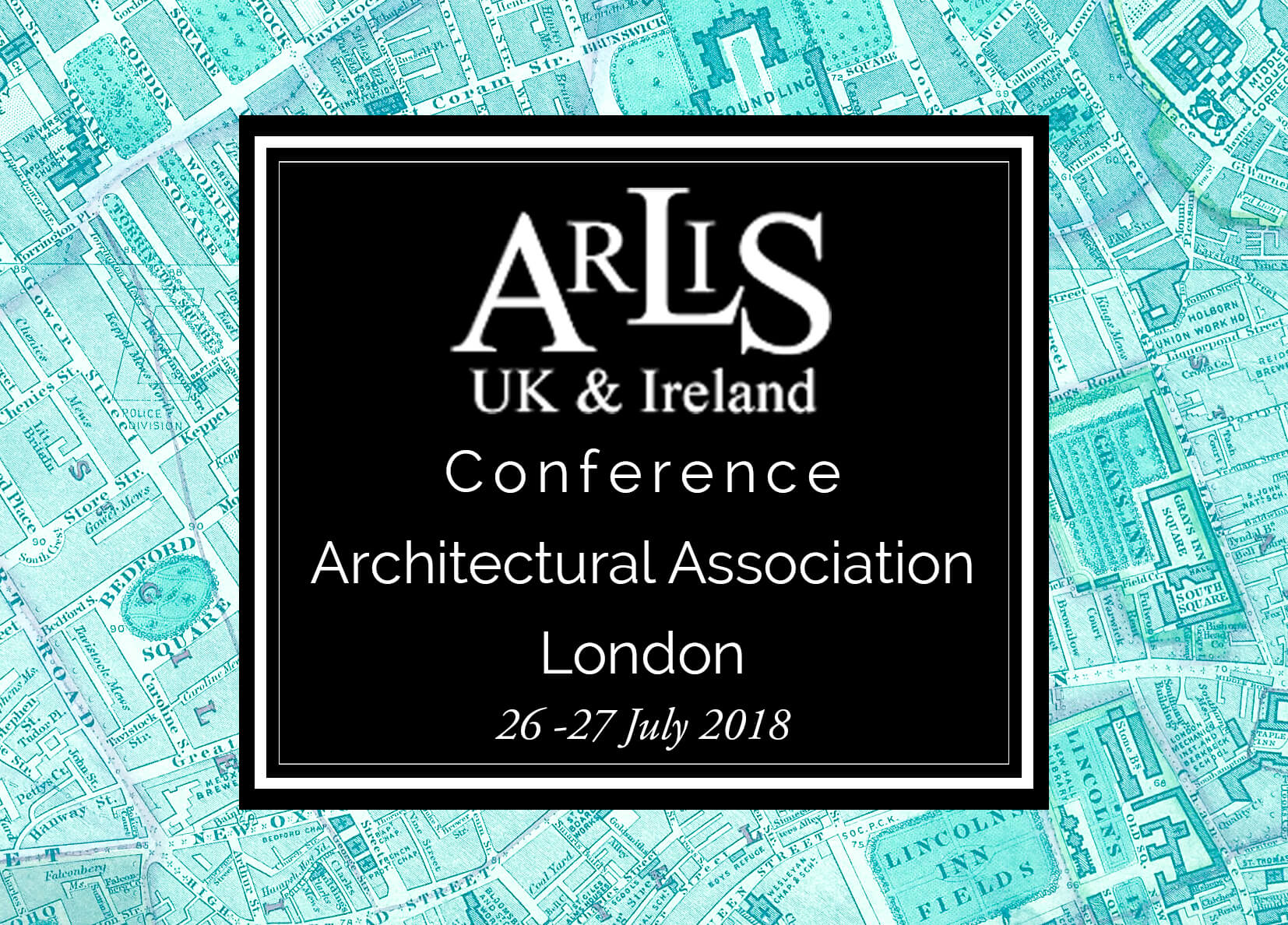 ARLIS London w dates logo and venue