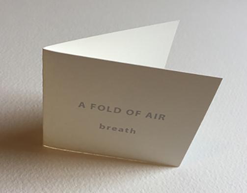 a fold of air