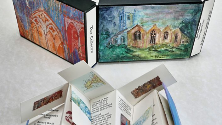 Art Portfolio with Field Sketch Board by Artists Loft